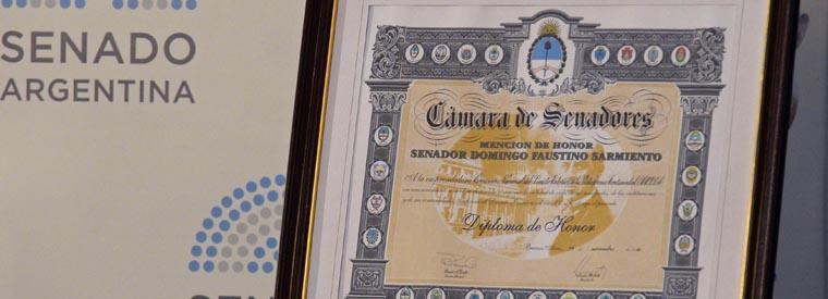 COPLA awarded highest decoration by Senat